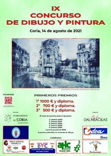 """IX Certamen Internacional de Dibujo y Pintura al aire libre """"Bufón Calabacillas"""""""