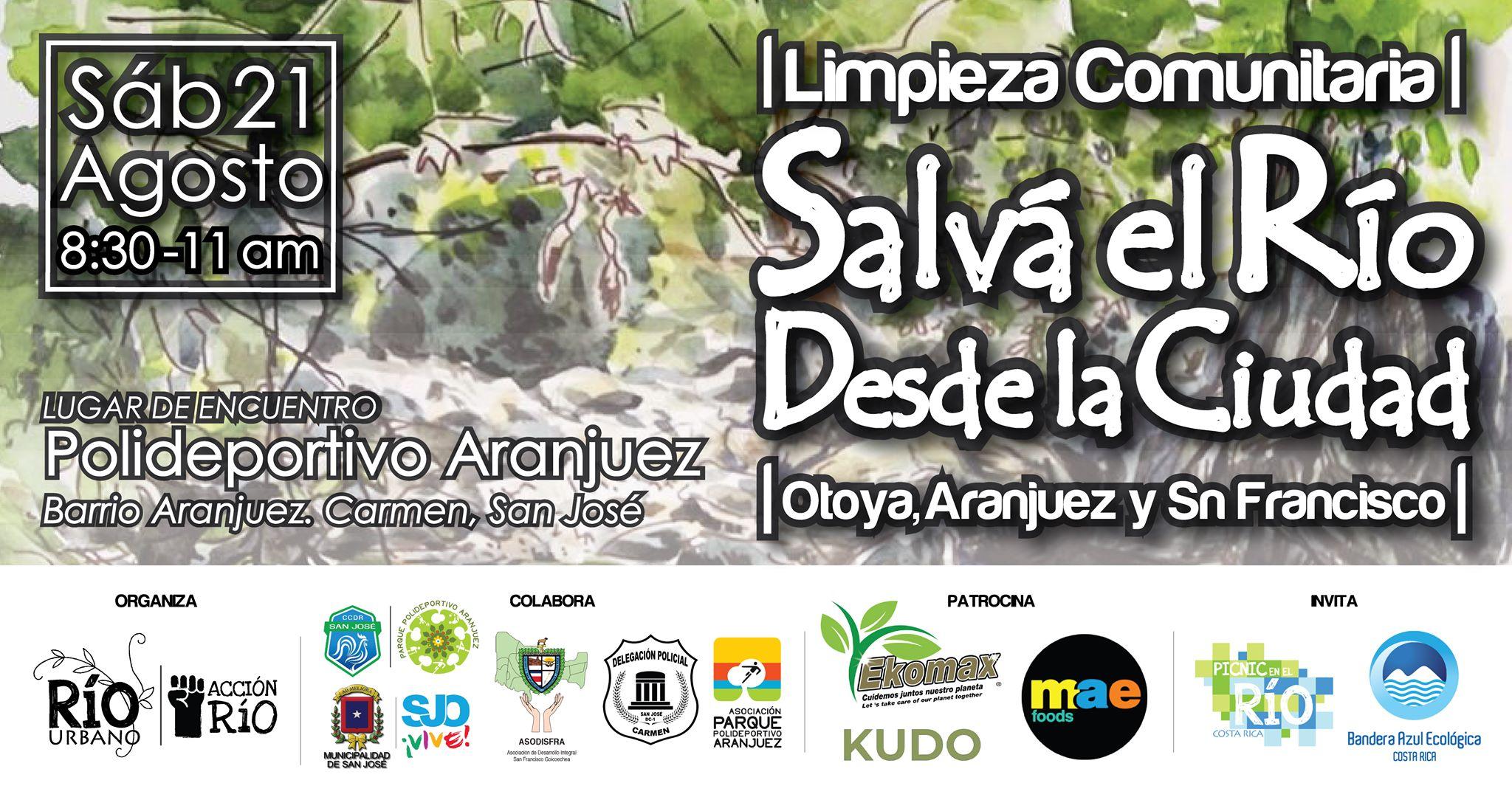 Limpieza Comunitaria 'Salvá el río desde la ciudad' / Agosto