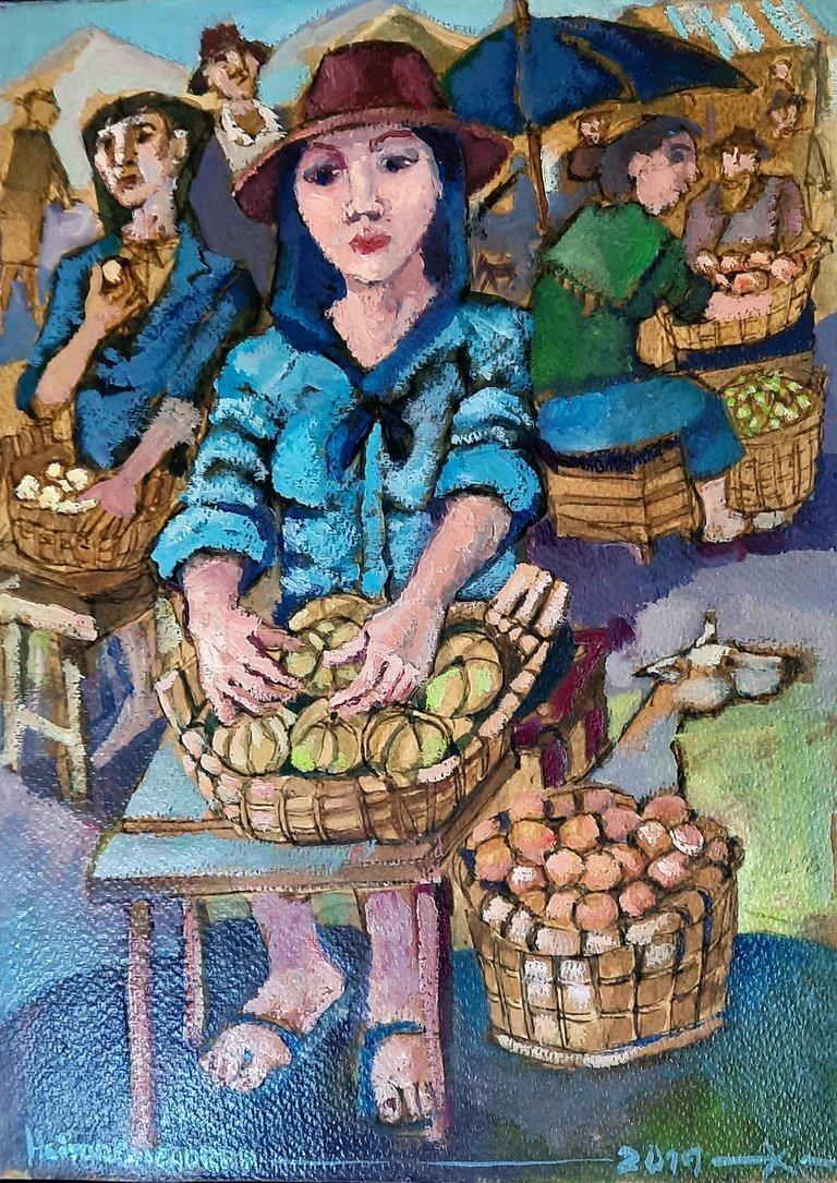 Exposição de pintura 'Gente de Cá', de Heitor Chichorro