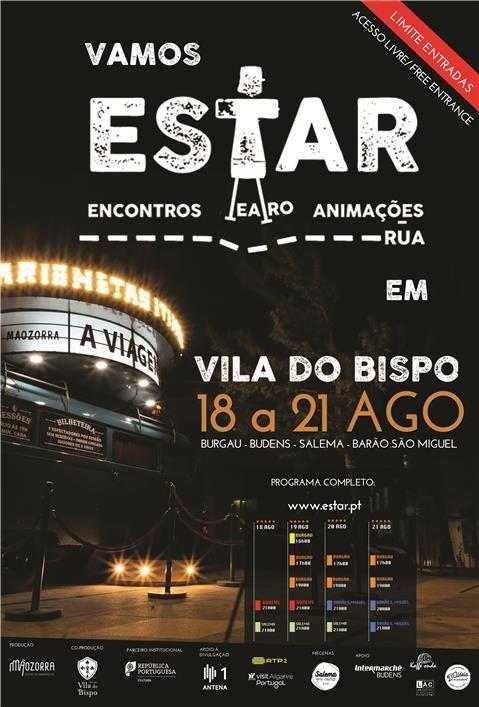 Festival ESTAR – Encontros de Teatro e Animação de Rua - acesso livre