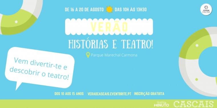 Histórias e Teatro - Férias de Verão