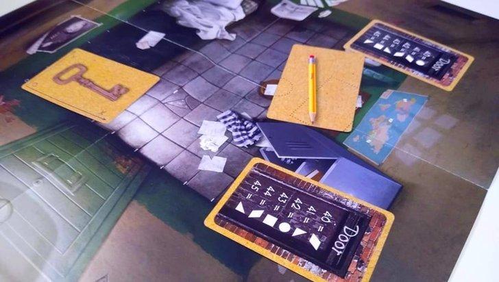Escape Game Kids de tabuleiro (crianças)