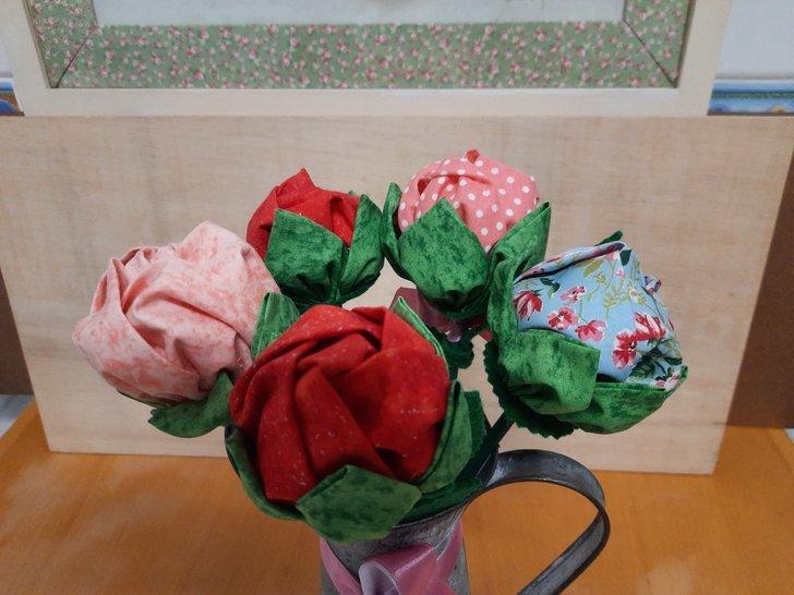 Workshop de Flores de Tecido (adultos)