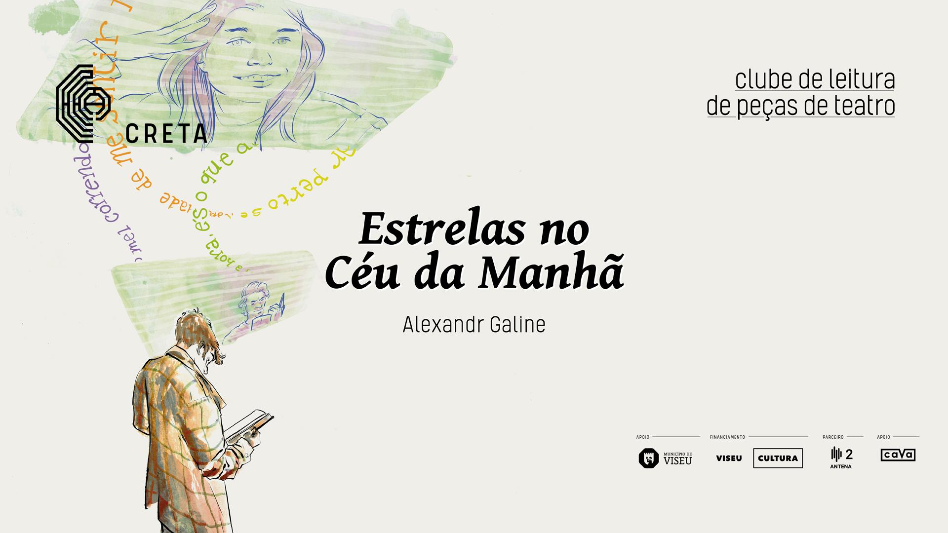 Clube de Leitura de Peças de Teatro: 'Estrelas no céu da manhã' de Alexandr Galine