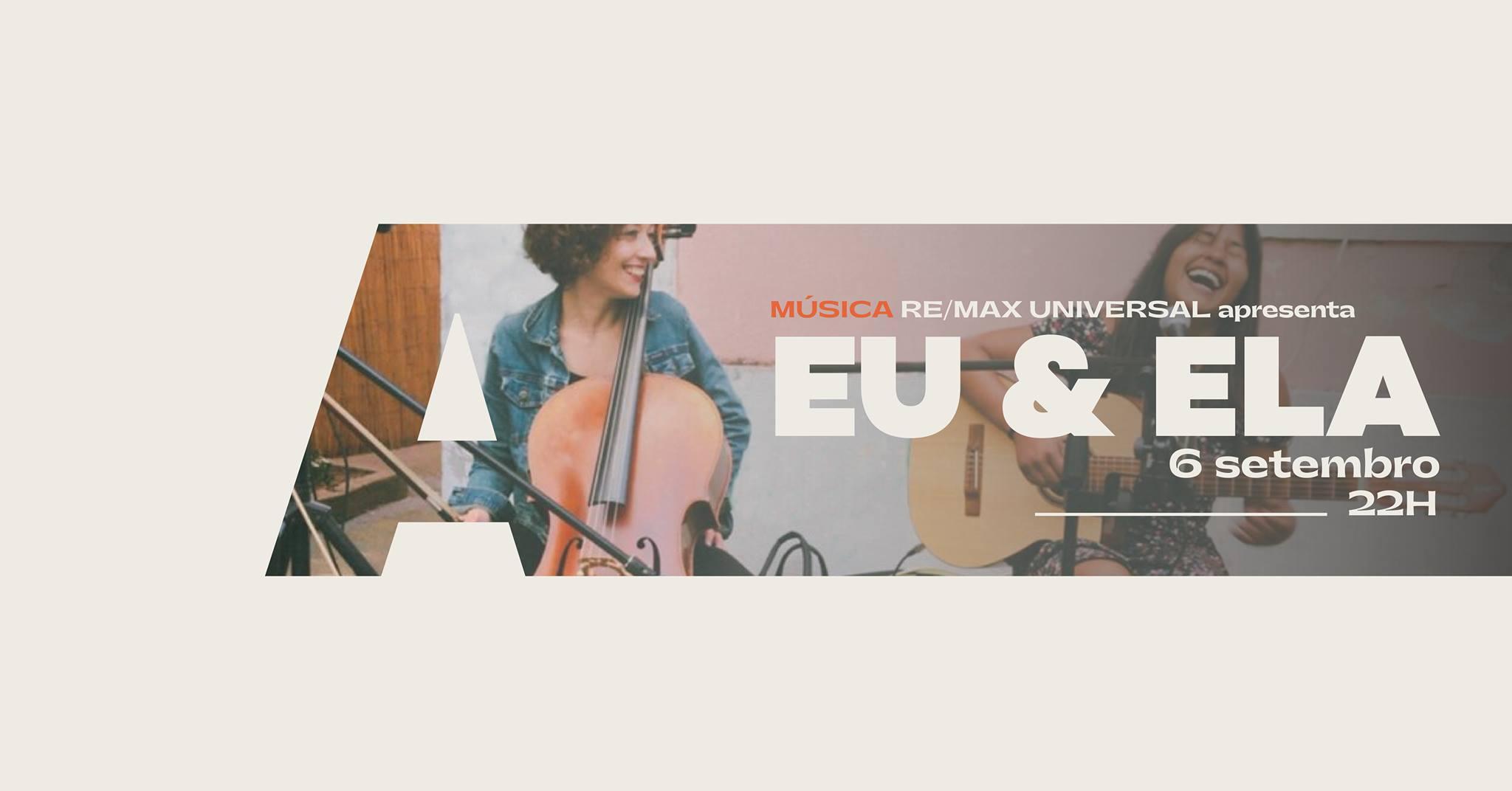Re/Max Universal apresenta Eu & Ela @Avenida Café-Concerto
