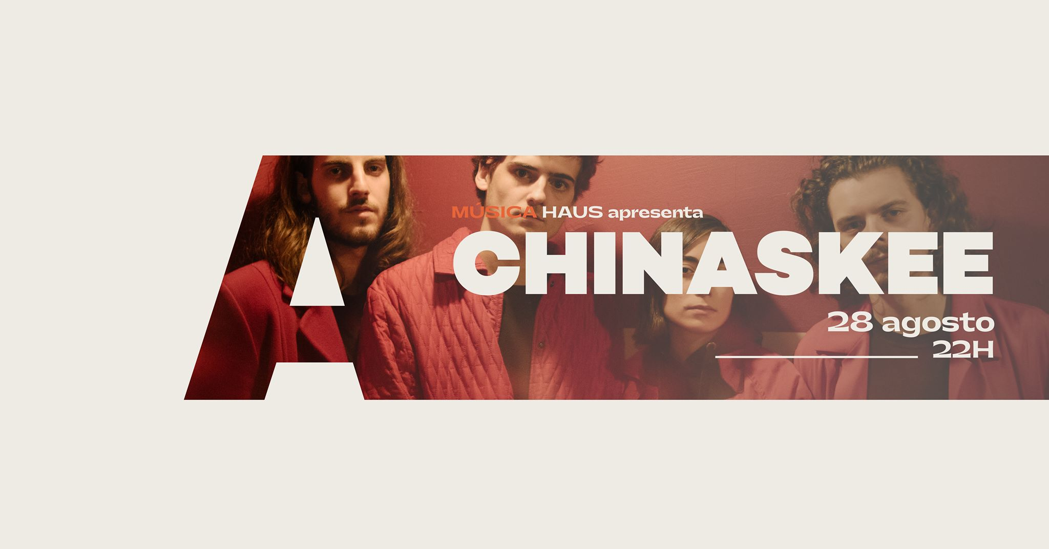 HAUS apresenta Chinaskee @Avenida Café-Concerto