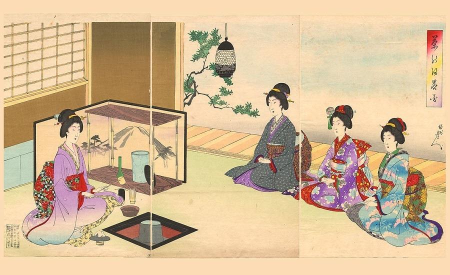Oriente nas Virtudes - Cerimónia do Chá - Chá Camélia