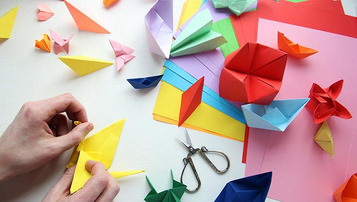 Oriente Nas Virtudes - Workshop de Origami