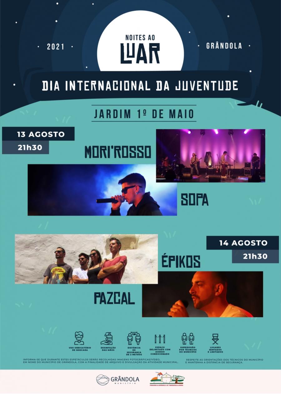 Dia Internacional da Juventude   Noites ao Luar   Concertos