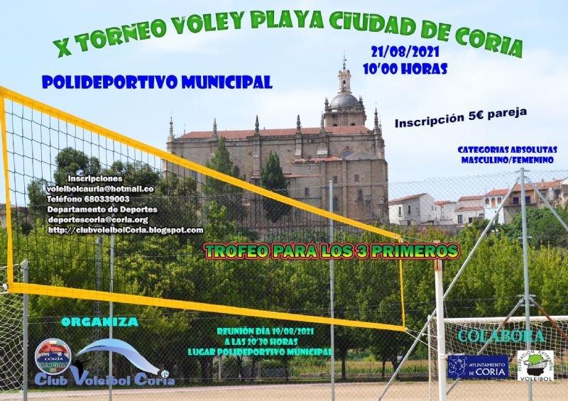 X Torneo de Voley-Playa 'Ciudad de Coria'