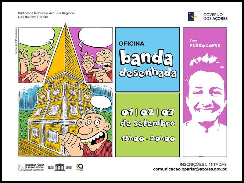 Oficina de Banda Desenhada com Pedro Lopes