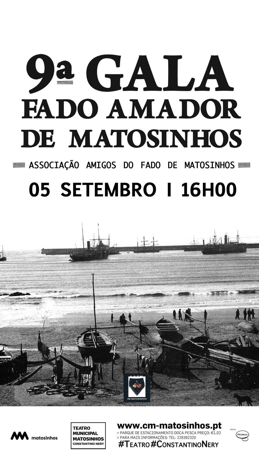 9ª Gala Fado Amador de Matosinhos