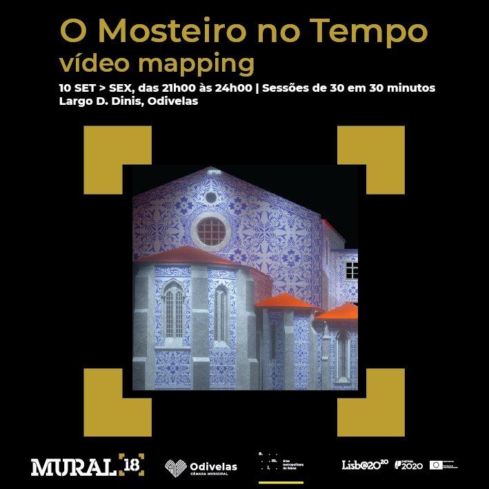 O Mosteiro no Tempo - vídeo mapping