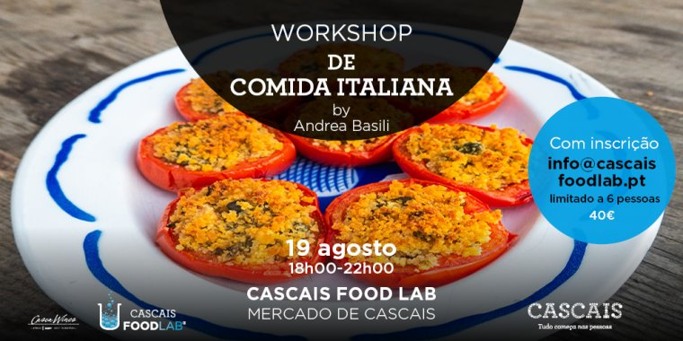 """O Império do Tomate"" - Workshop de comida Italiana, by Andrea Basili"