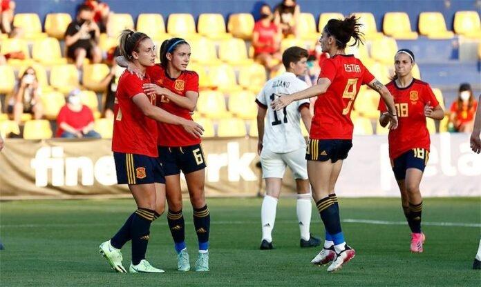Fútbol femenino: Selección española absoluta