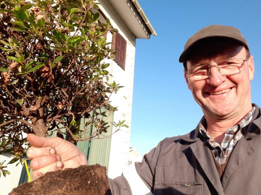 A minha horta - Oficina de jardinagem - com Hartmut Nestler da Siro