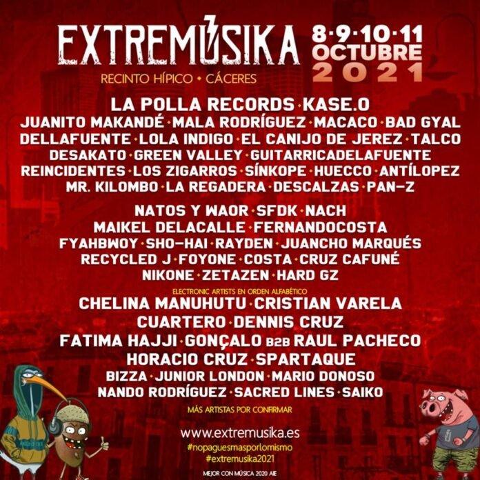 EXTREMÚSIKA 2021 | Cáceres
