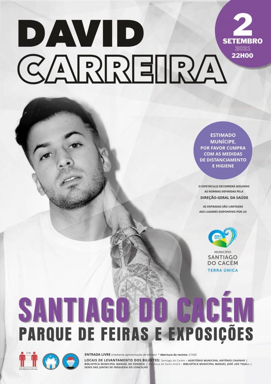 Concerto com David Carreira