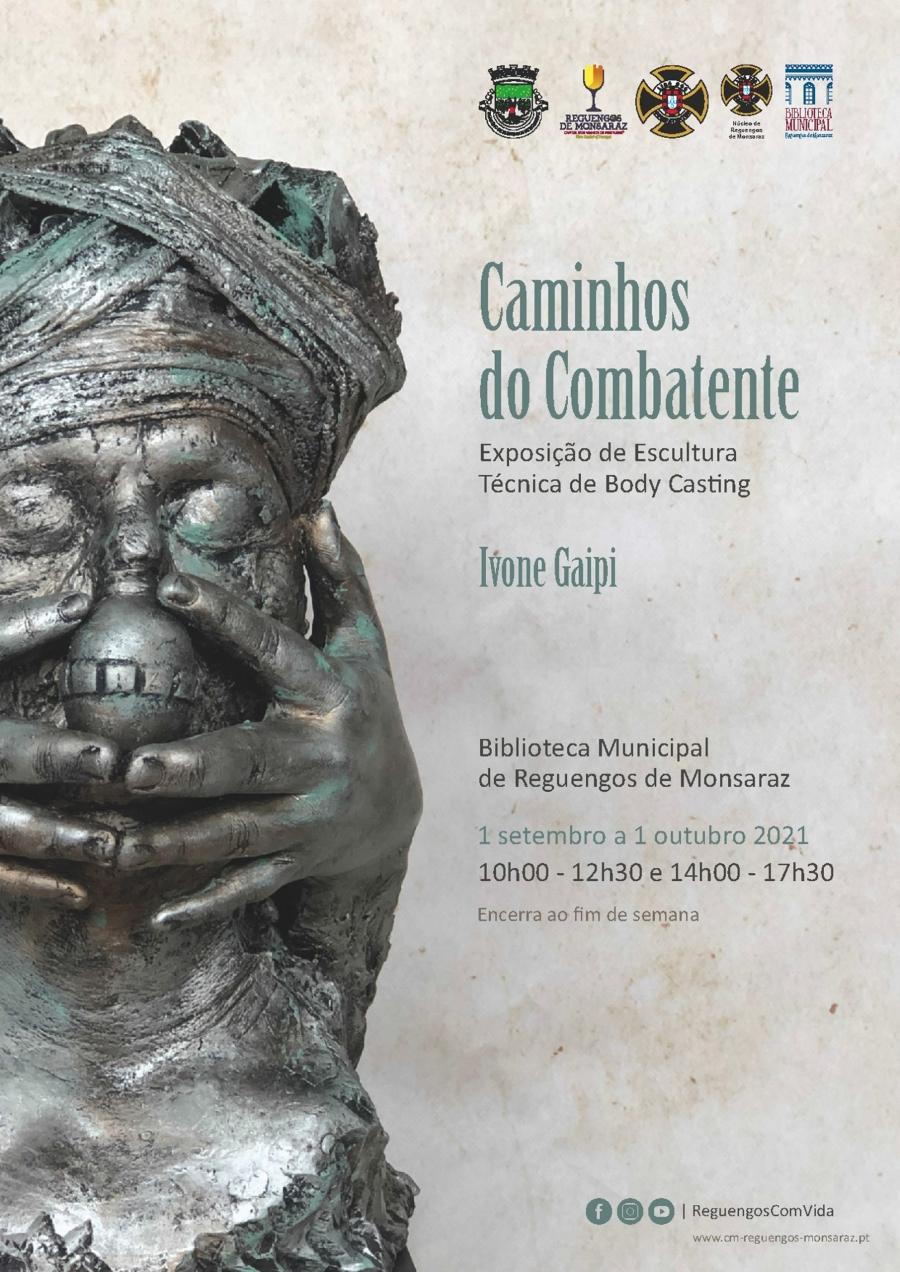 """""""Caminhos do Combatente"""" exposição de Ivone Gaipi"""