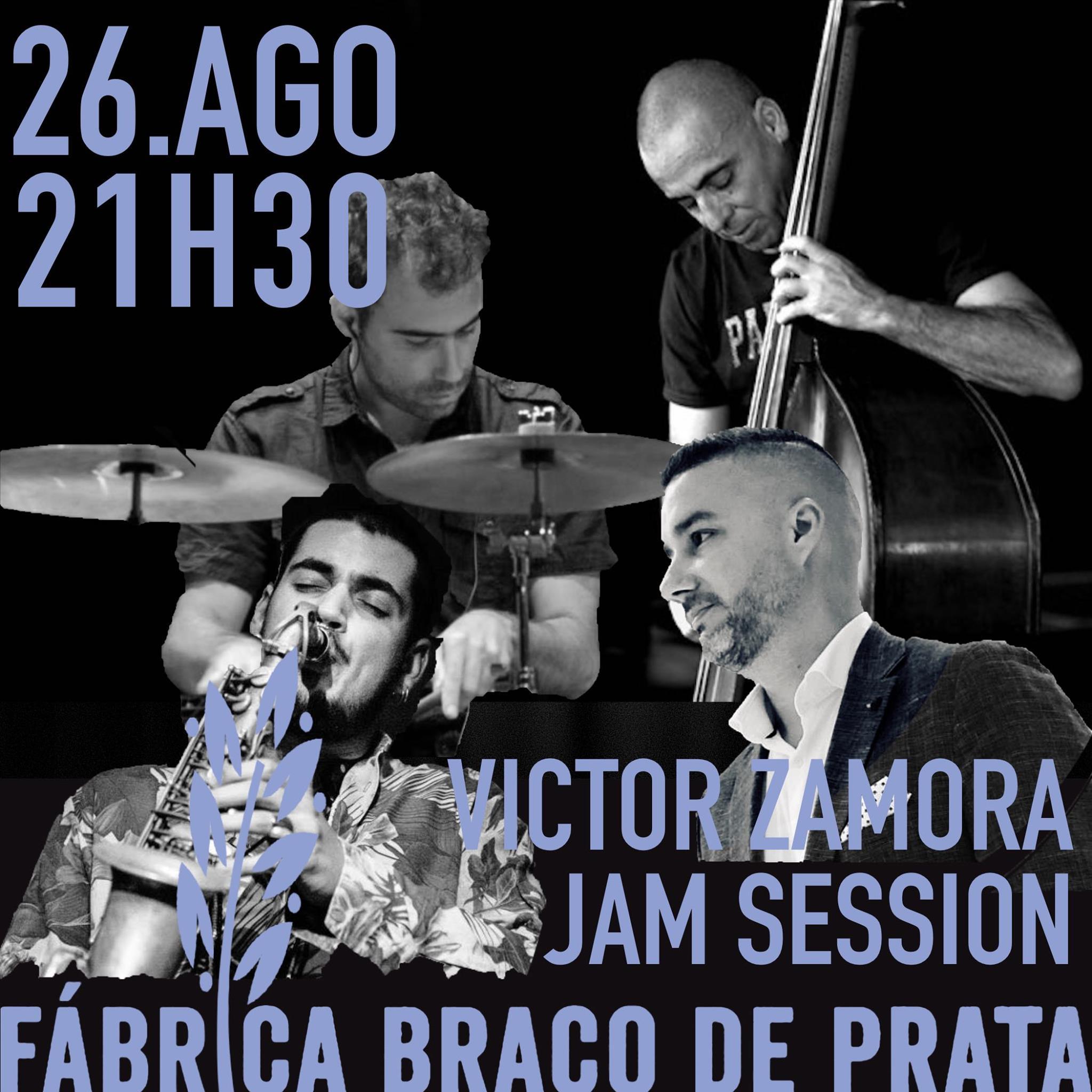 Esplanada | Jam Session com Victor Zamora