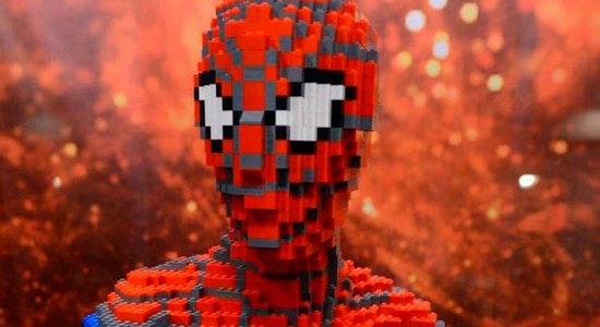 A maior exposição da Europa de modelos feitos com peças Lego®