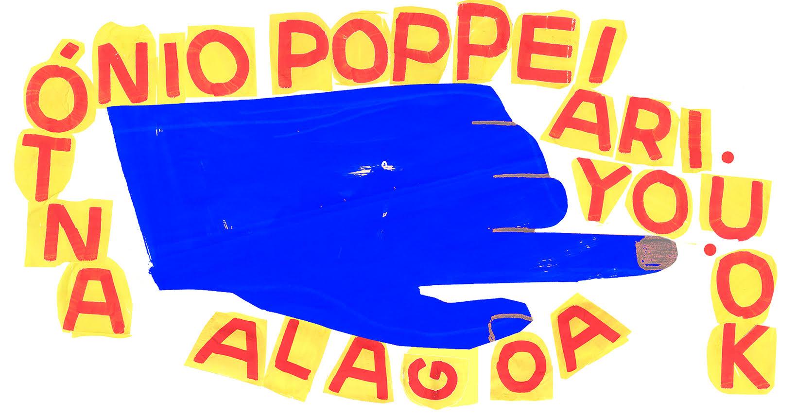 Alagoa   António Poppe . Ariyouok? - 'deslagrimagem / deslagrimargem'
