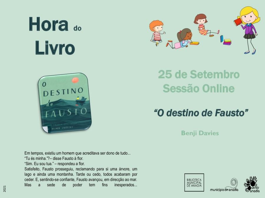 """Hora do Livro – """"O destino de Fausto"""""""