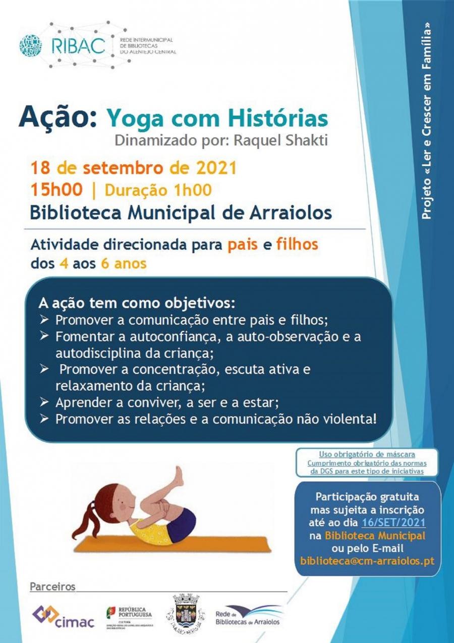 Ação: Yoga com Histórias