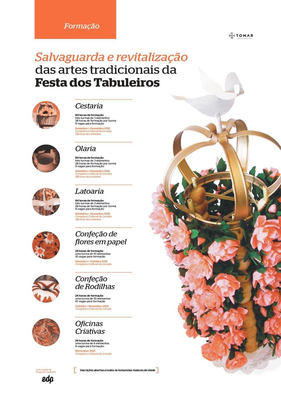 Programa Tradições EDP: Artes Tradicionais da Festa dos Tabuleiros