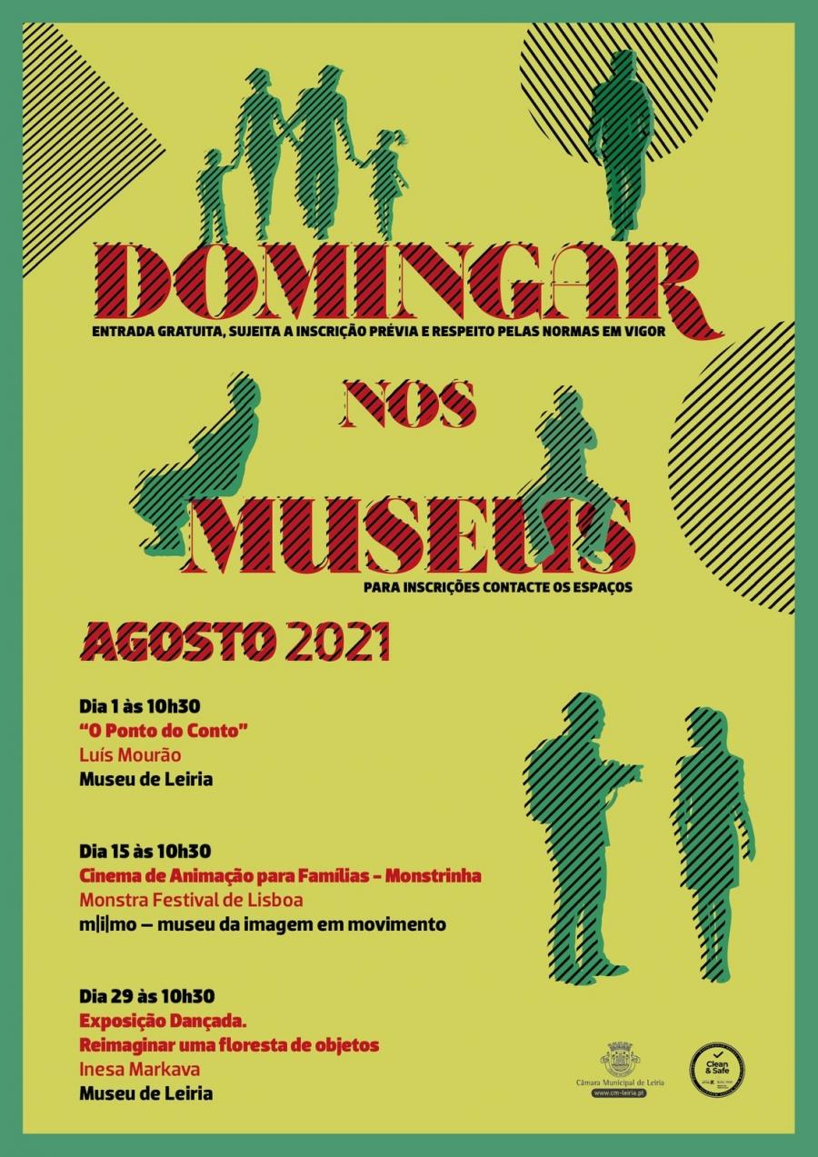 Domingar nos Museus: Agosto 2021