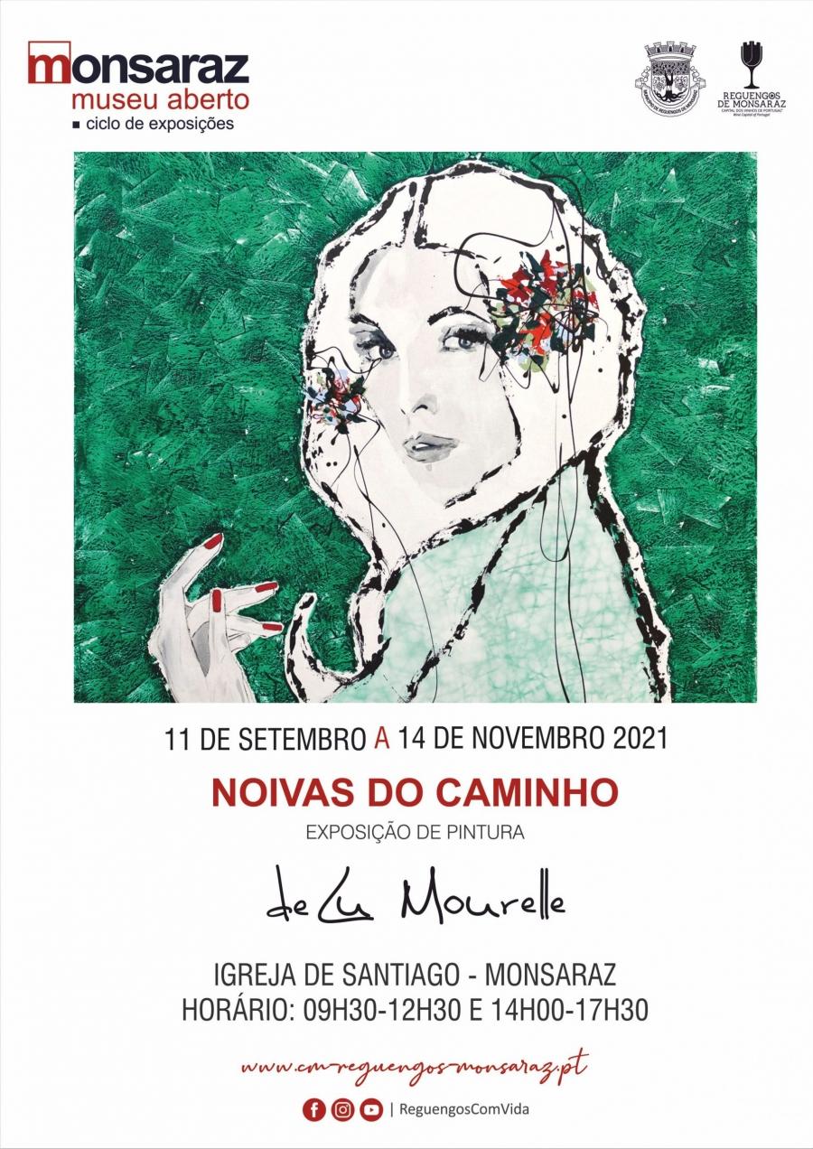 """""""Noivas do Caminho"""" exposição individual de Lu Mourelle"""