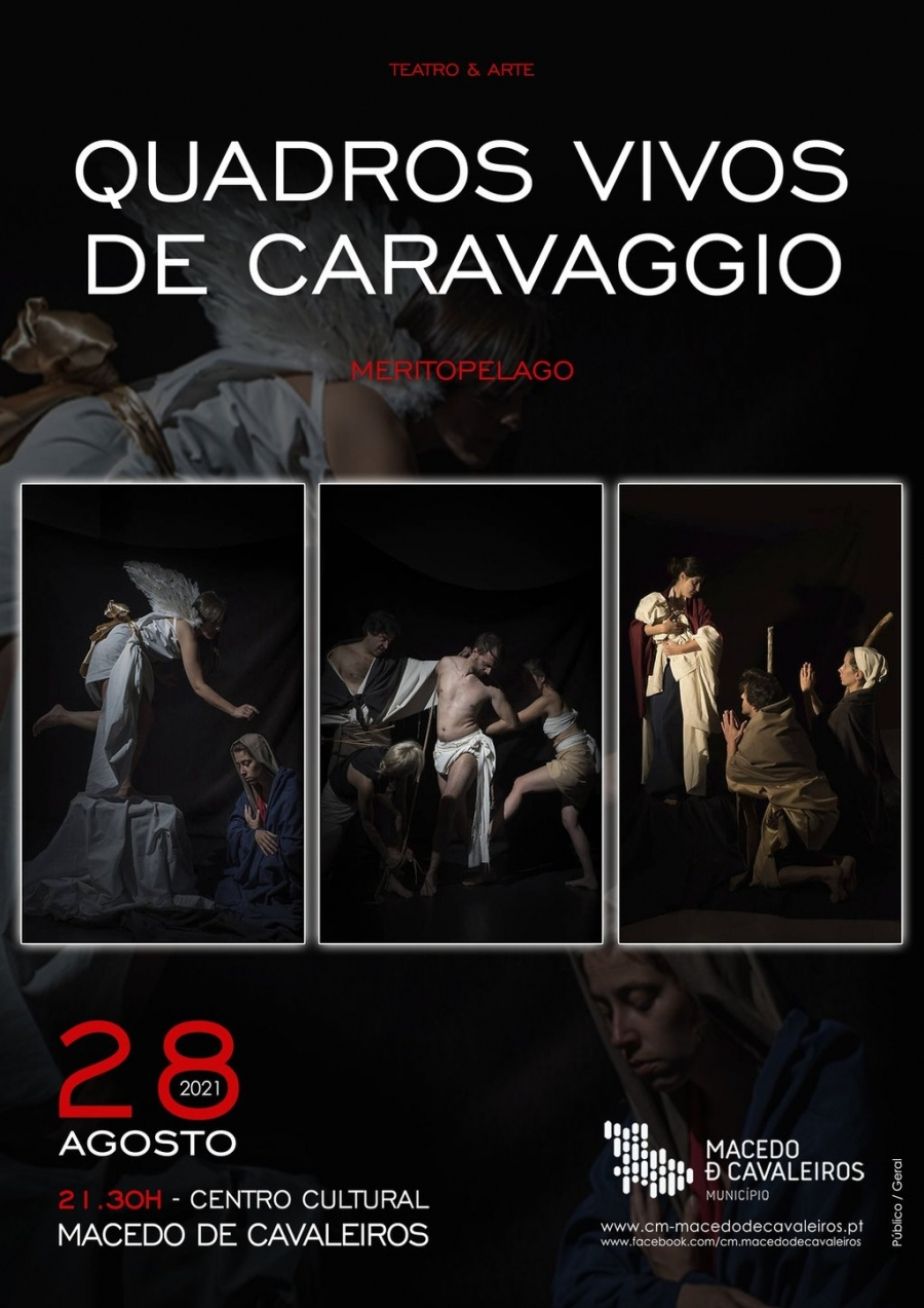 'Quadros Vivos de Caravaggio'