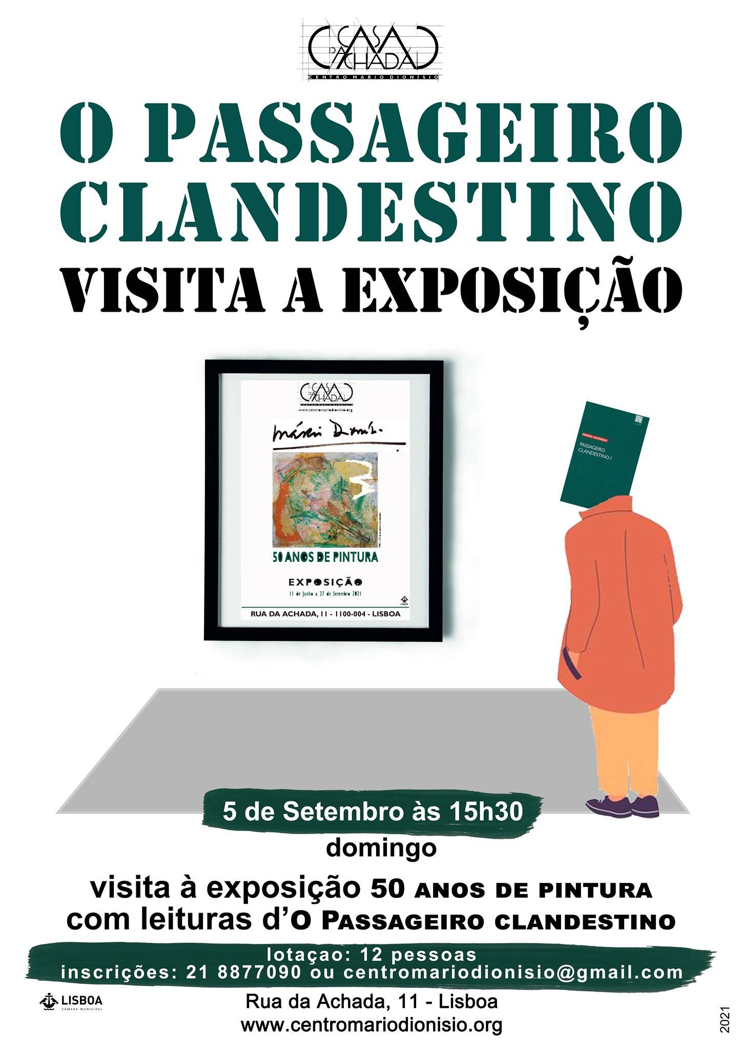 O «Passageiro Clandestino» visita a exposição