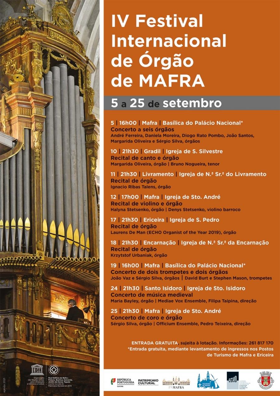 IV Festival Internacional de Órgão de Mafra
