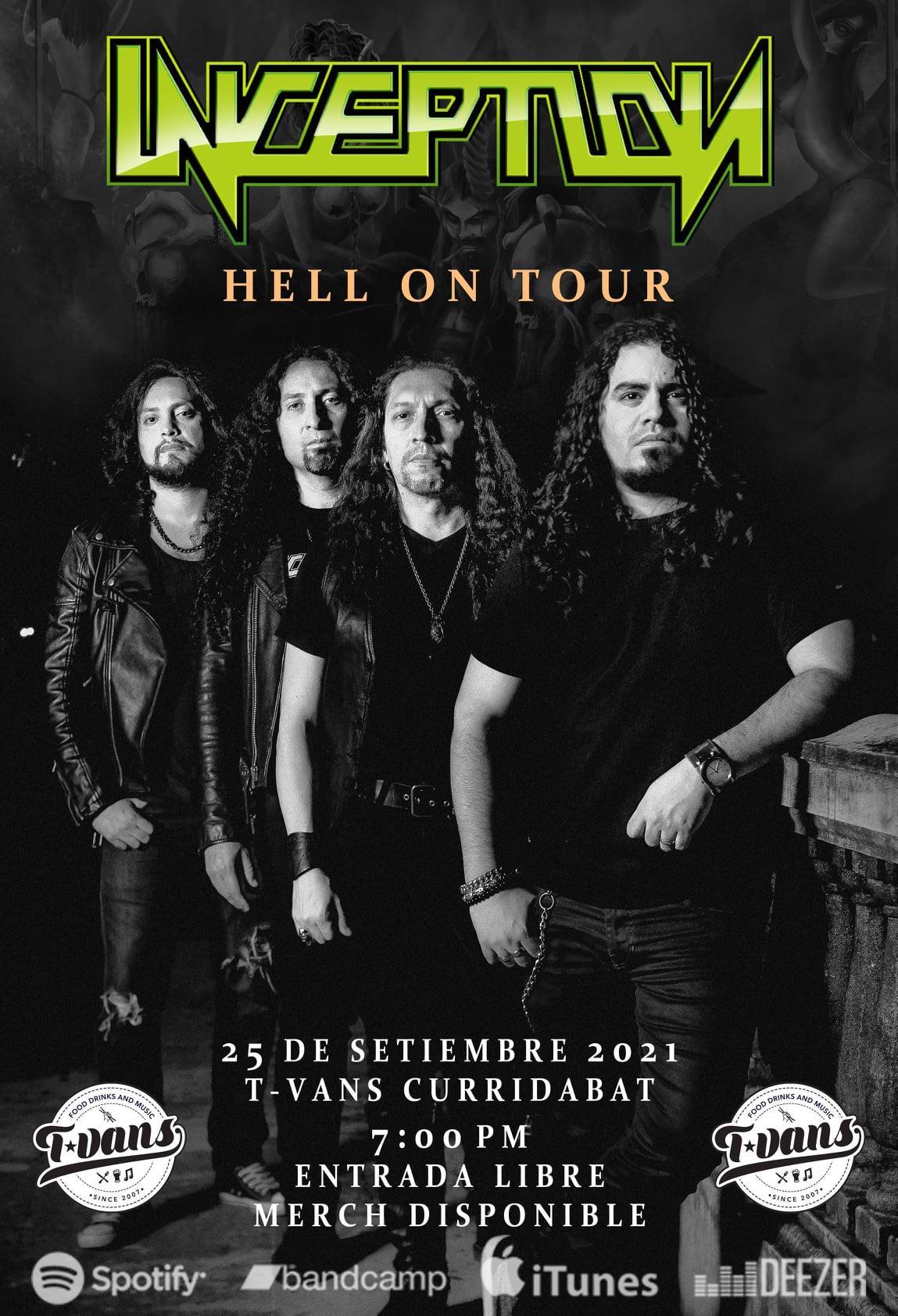 Inception Hell on Tour - Bar Tvans