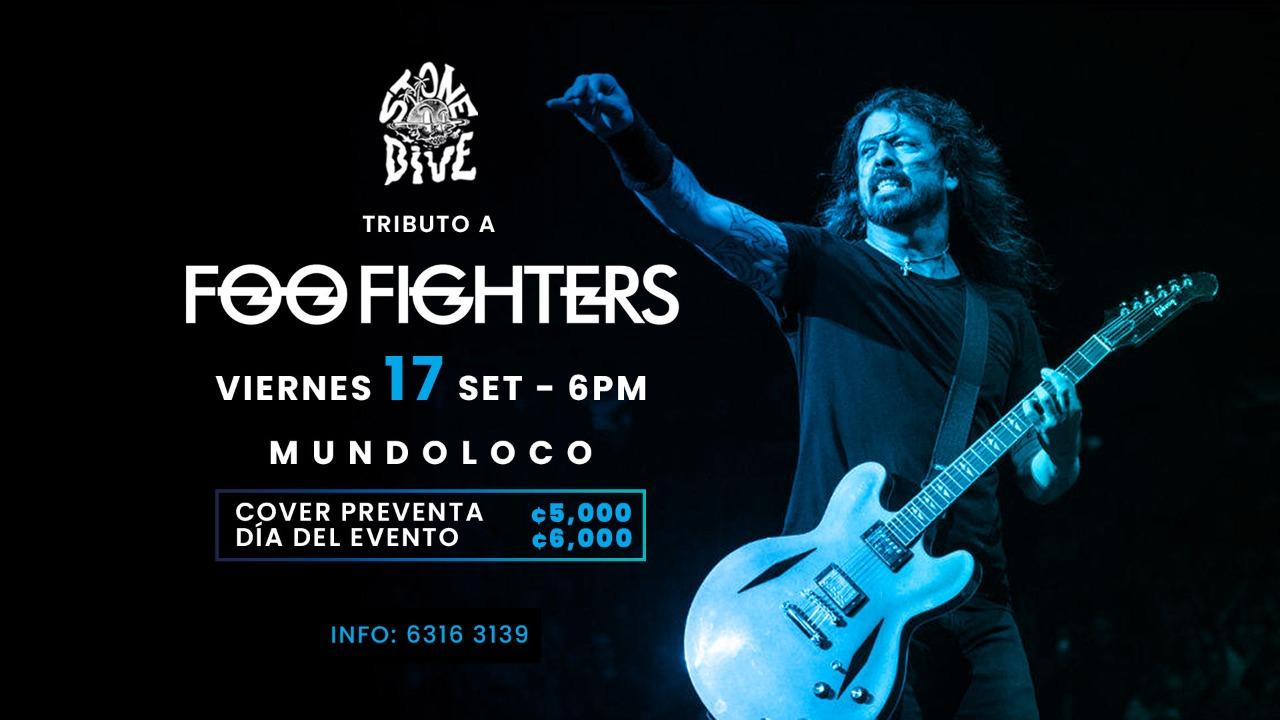 Tributo a Foo Fighters en Mundoloco