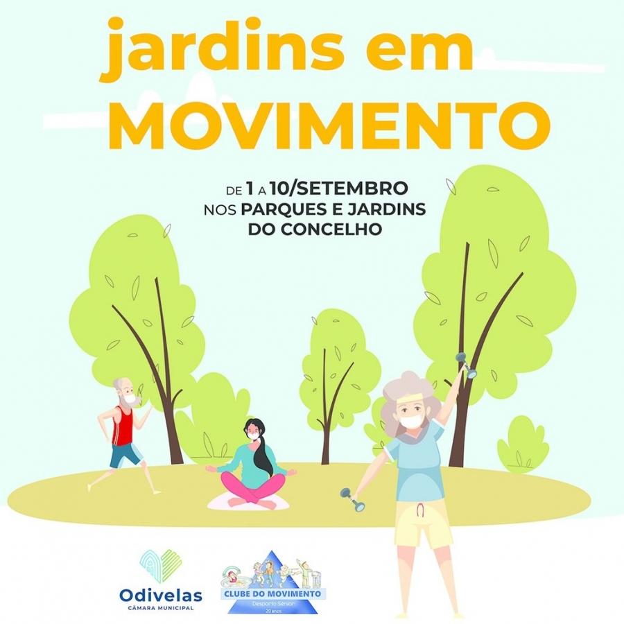 Jardins em Movimento - Desporto Sénior