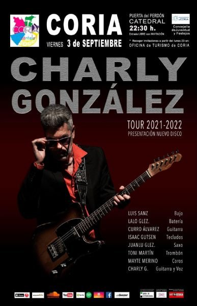 Concierto de Charly Gonzalez