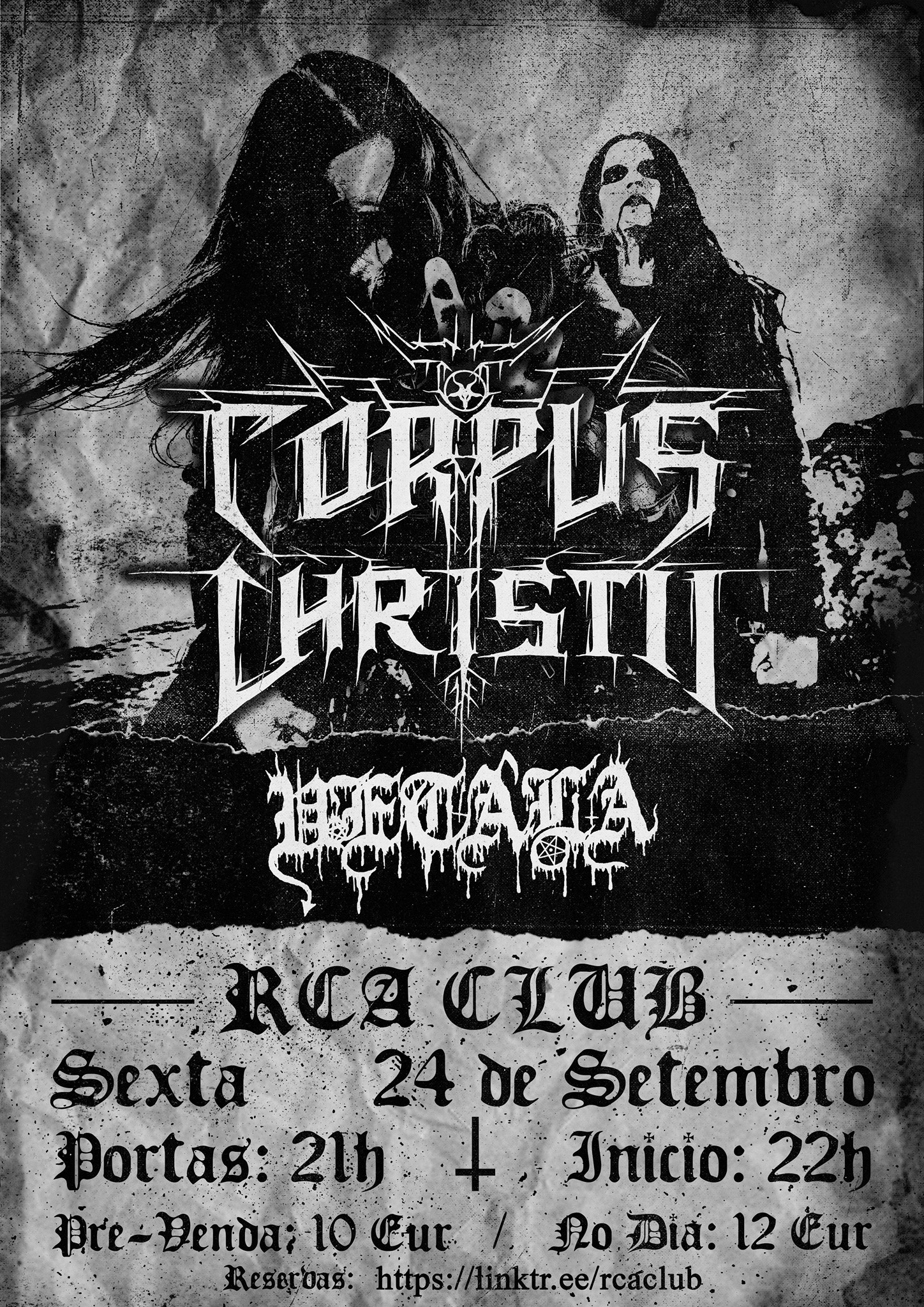 CORPUS CHRISTII + VETALA - RCA Club, Lisboa