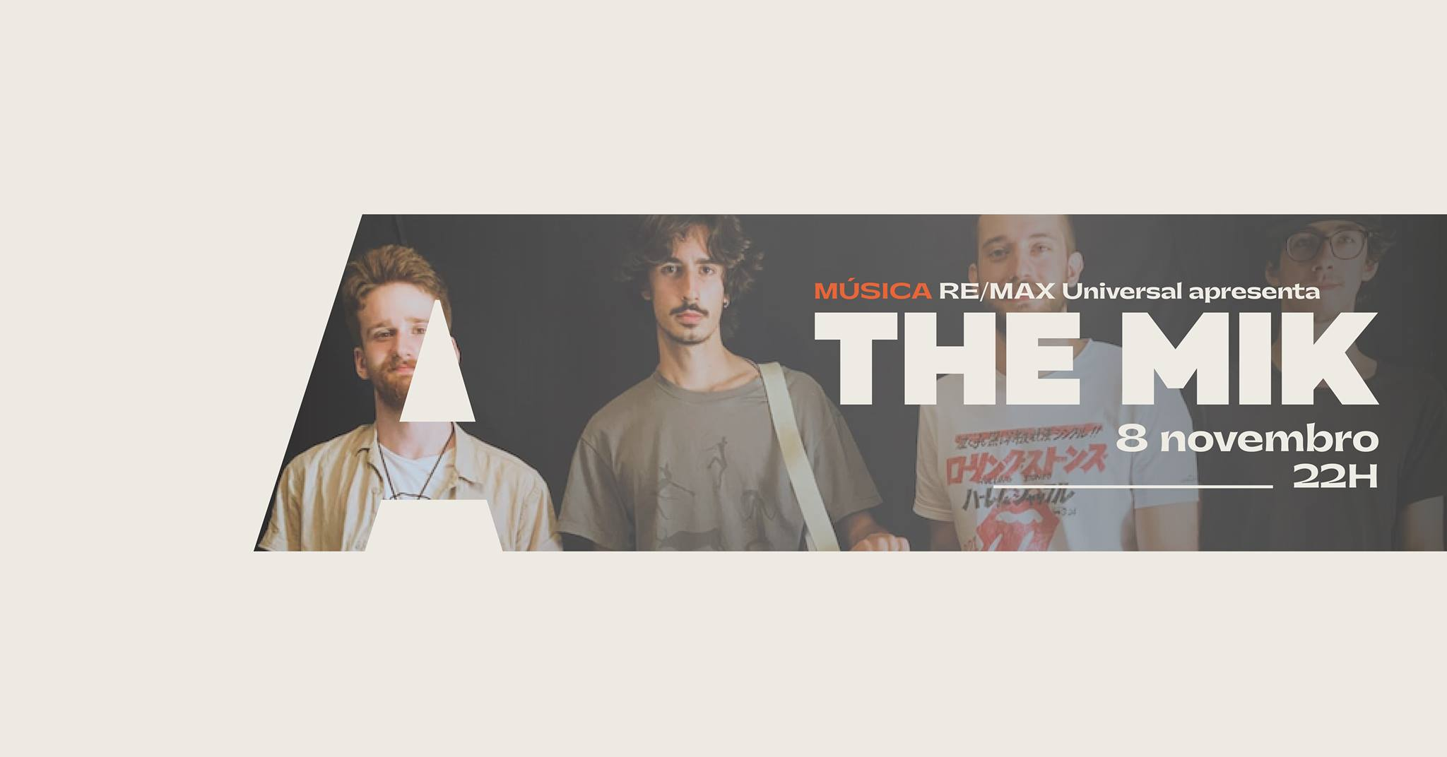 Re/Max Universal apresenta The Mik @Avenida Café-Concerto