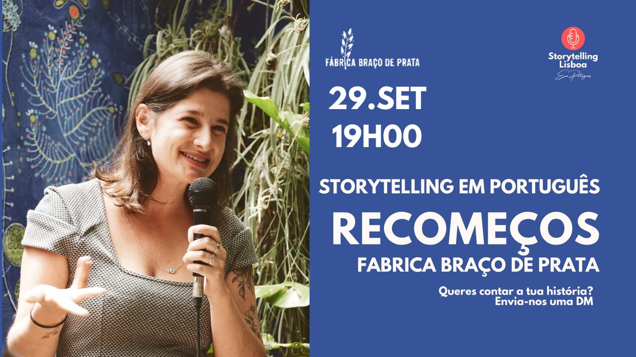 'Recomeços'—Storytelling em Português
