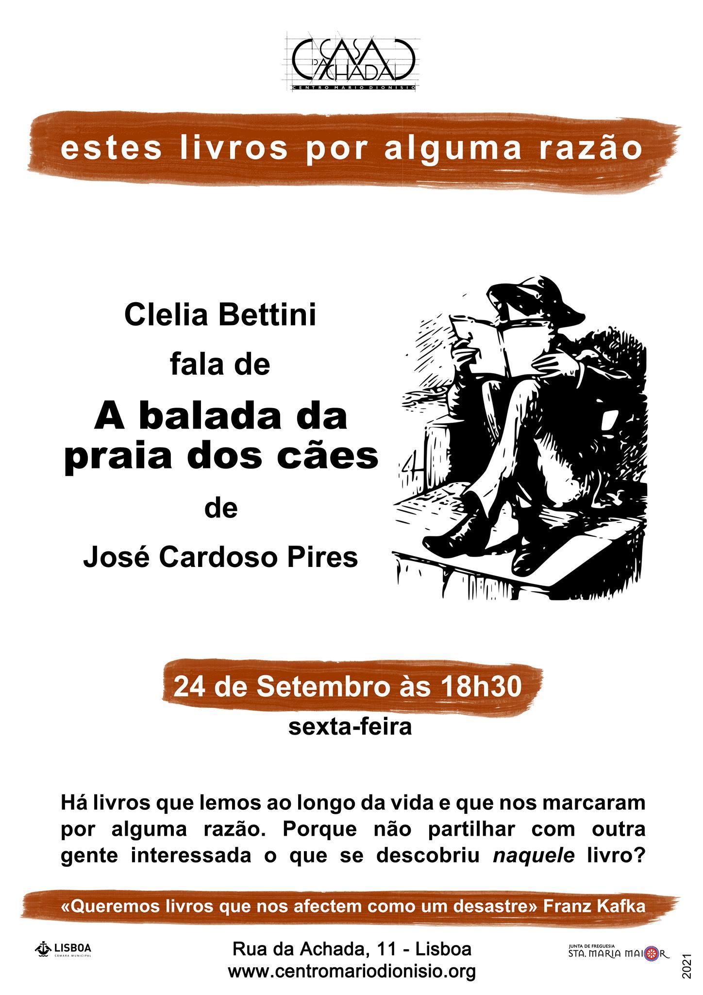 Estes livros por alguma razão: Clelia Bettini fala d'A Balada da Praia dos Cães