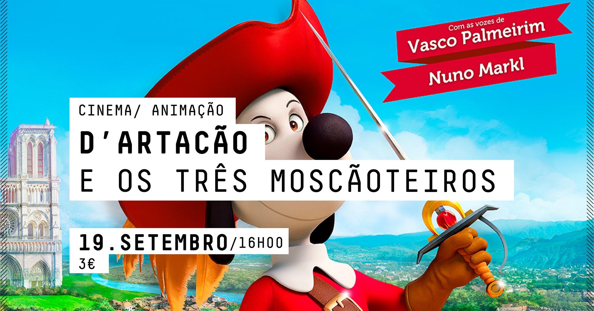 CINEMA  -  D'Artacão e os três Moscãoteiros