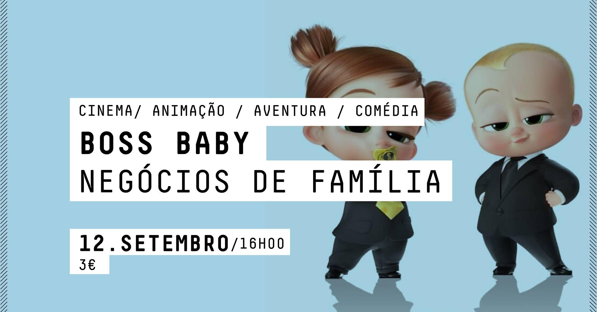 CINEMA  - Boss Baby: Negócios de Família
