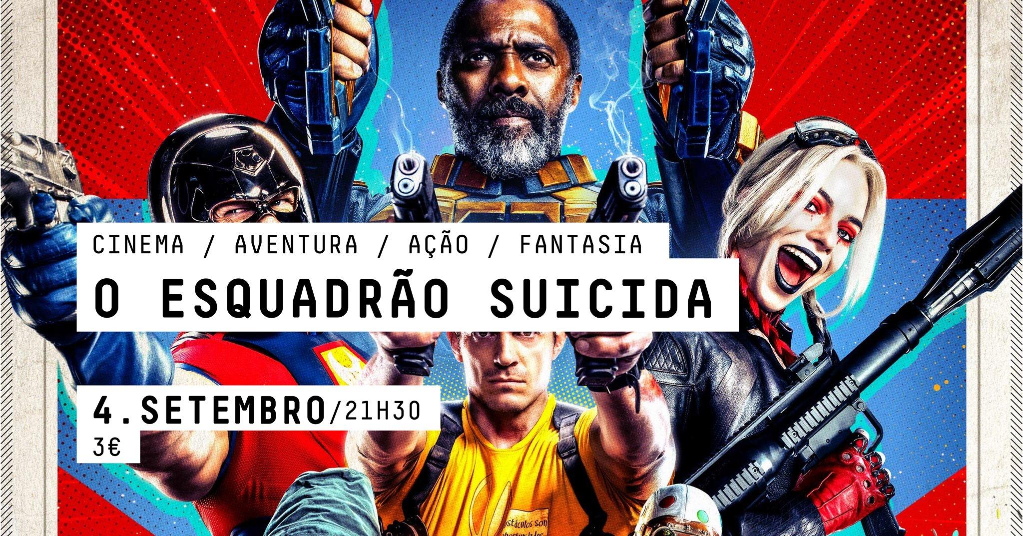 CINEMA  -  O Esquadrão Suicida