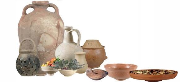 Encontros no Museu - Receitas e artefactos arqueológicos da cozinha romana