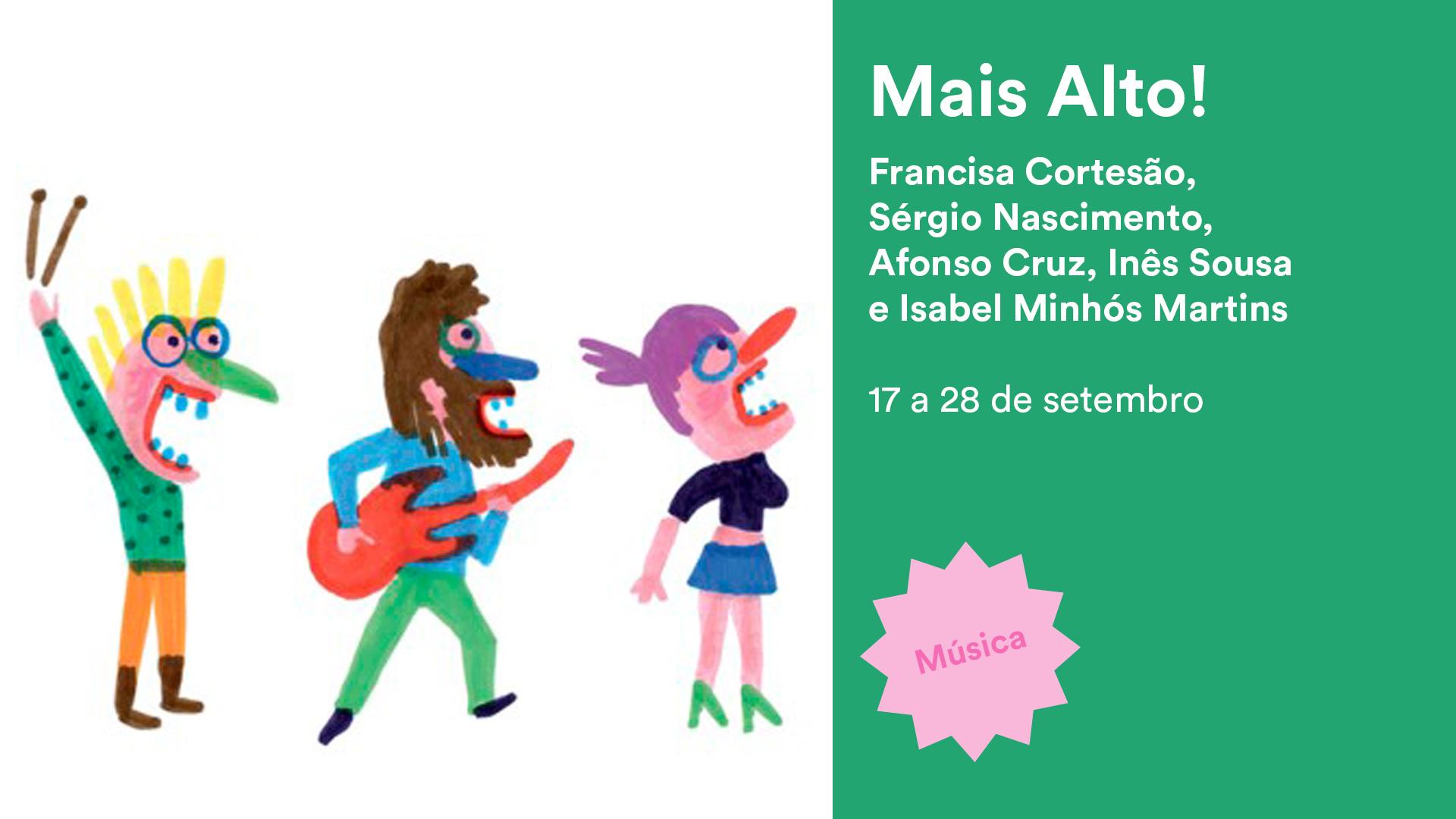Concerto Mais Alto!, de Francisca Cortesão, Sérgio Nascimento e Isabel Minhós Martins