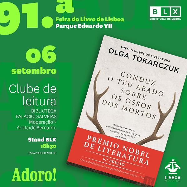 BLX na 91ª Feira do Livro de Lisboa – Clube de Leitura da Biblioteca Palácio Galveias