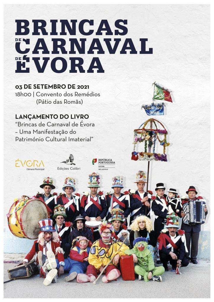 """Lançamento do Livro """"Brincas de Carnaval de Évora – Uma Manifestação do Património Cultural Imaterial"""""""
