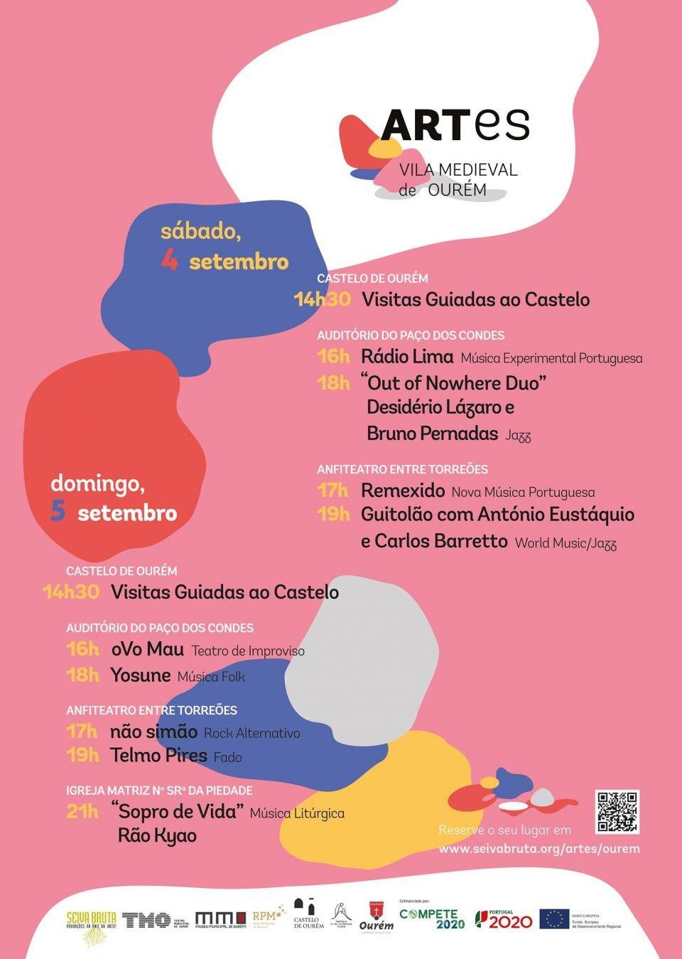 FESTIVAL ARTes - VILA MEDIEVAL DE OURÉM   'GUITOLÃO' COM ANTÓNIO EUSTÁQUIO…